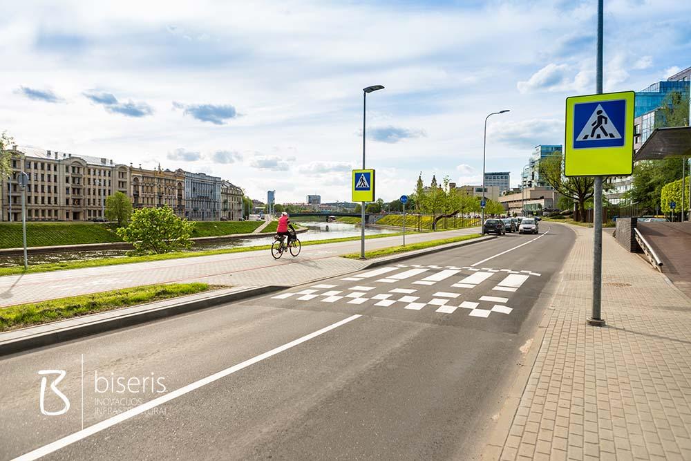 Žvejų gatvės atnaujinimas Vilniuje