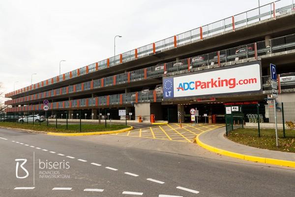 Stovėjimo vietų ženklinimas ACD Parking, Vilnius