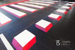FIRST 3D PEDESTRIAN CROSSING IN LITHUANIA!